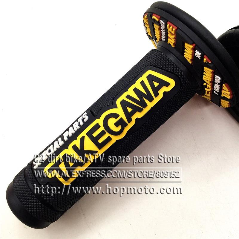 GUL Handtag Grip TAKEGAWA Motorcykel Högkvalitativ Universal Dirt - Motorcykel tillbehör och delar - Foto 4