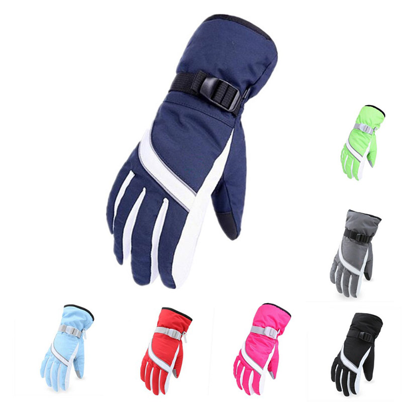 Adult Winter Skiing Gloves Sports Snowboard Ski Gloves Winter Ride Thick Motorcycle Cycling Anti -30 Degree Warm Sport Gloves