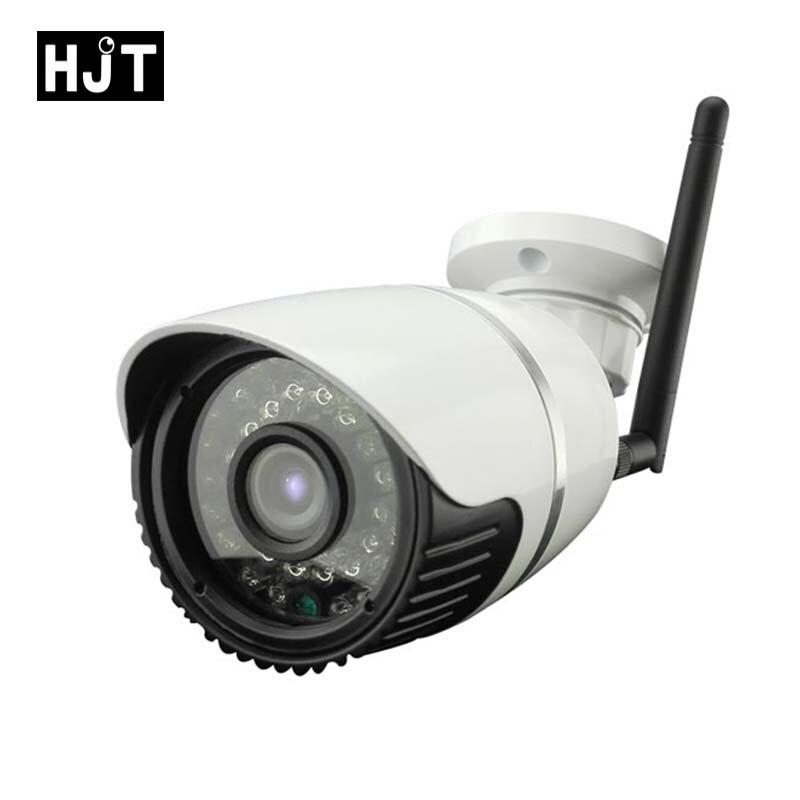 bilder für HJT HD 720 P Micro Sd-karte Wireless Wlan Ip-kamera IR Nachtsicht Überwachung CCTV Outdoor Netzwerk P2P ONVIF Remote View H.264