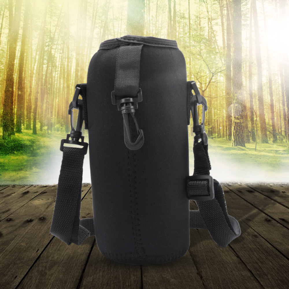 Cup-Cover Water-Bottle-Carrier Strap Travel-Accessories Neoprene for 750ML Neoprene-Insulated-Cover-Bag-Holder
