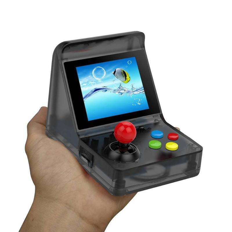 Image 5 - Powkiddy 3 Inch 320 x 240 A7 Game Console Retro Game Player 32Bit Built In 520 Classic Games Support Doubles And Tf Card Max 3-in Handheld Game Players from Consumer Electronics