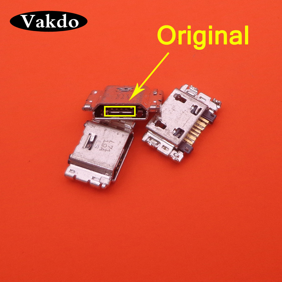10pcs/lot Micro USB Charging Port Jack Connector For Samsung J5 SM-J500 J1 SM-J100 J100 J500 J5008 J500F J7 J700 J700F J7008