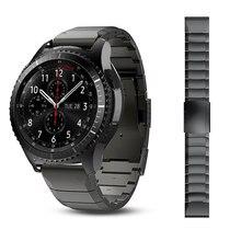20mm 22mm Metall Armband Für Huawei Uhr GT2 Armband Für Samsung Galaxy 46mm Getriebe S3 Handgelenk Band strap Amazfit 2 Schnell installieren