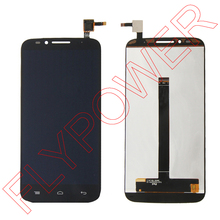 100% warranty LCD Screen Display With Black Touch Screen Digitizer Sssembly For Umi Emax By Free Shipping