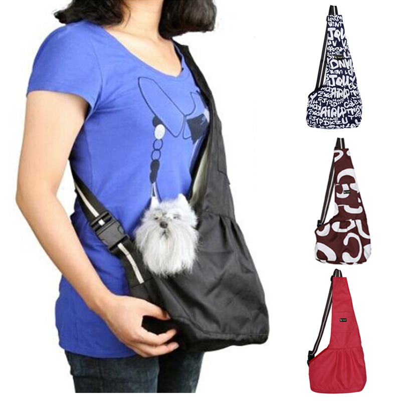 Slings Pet Dog Carriers Pet Dog Cat Hand Free Carrier Bag Outdoor Traveling Pouches Breathable Fashion Dog Carrier Bags Supplies