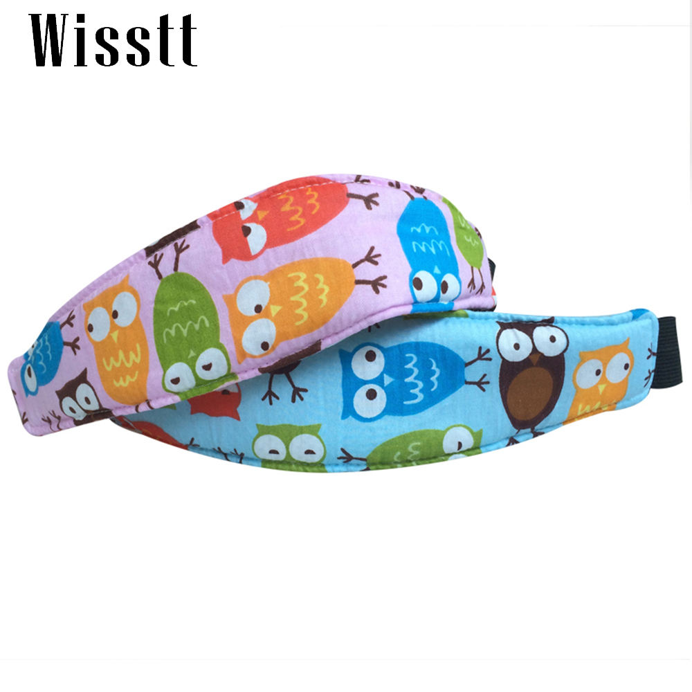 Car Safety Seat Sleep Positioner Baby Head Support Pram Stroller Fastening Belt Adjustable