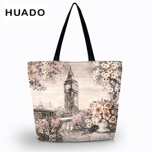 цены Large Shopping bag Foldable Tote Women Shopping Bags  Beach Tote bag