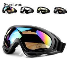 1 Piezas De Invierno A Prueba Viento Esqu Gafas Deportes Al Aire Libre Cs UV400 Polvo Moto Cicli
