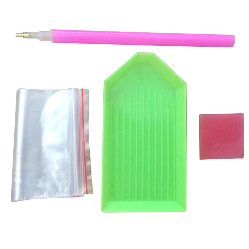 Nails Art Rhinestones Picker Plate And Crystal Dotting Pen And Diamonds Picker Gel Cube Fashion Stones Picking Tools 3pcs/set