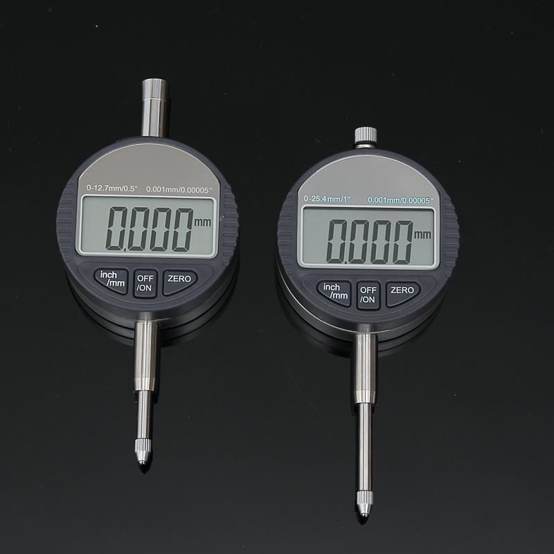0,001 mm skaitmeninio rinkimo indikatoriaus tikslus mikrometras, 25,4 - Matavimo prietaisai - Nuotrauka 2
