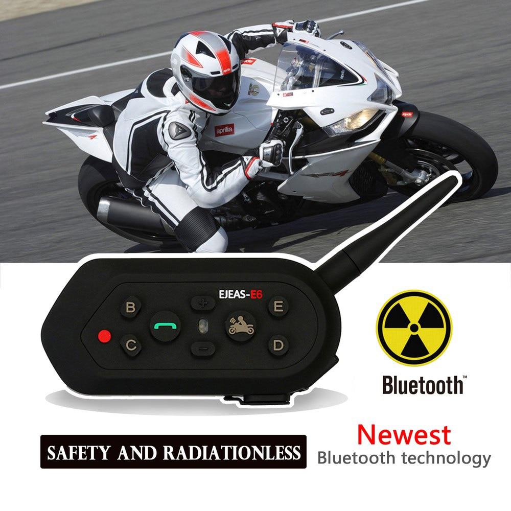 Motorcycle Helmet Headset Wireless Waterproof Bluetooth Headset Kit Interphone MP3 Headsets Motorcycle Electronics Accessories