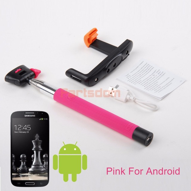 Bluetooth Selfie Stick For iphone Samsung Xiaomi Huawei