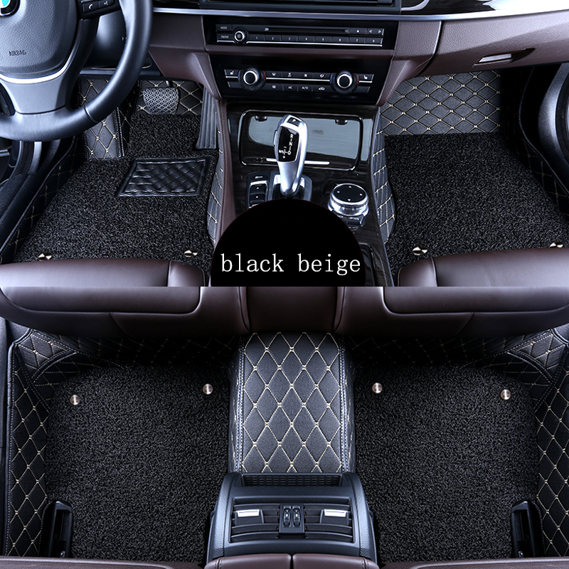 kalaisike Custom car floor mats for Lexus All Models ES IS LS RX NX GX GTH GS LX car styling car accessories