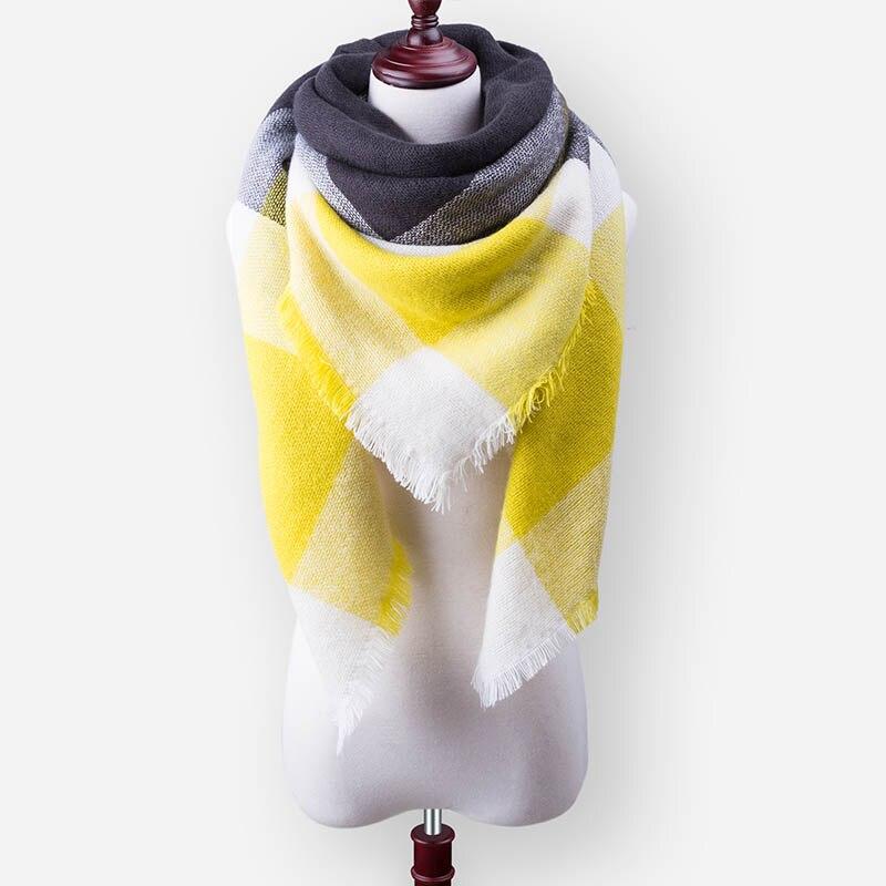 Бренд Evrfelan, шарфы, Прямая поставка, женский зимний шарф, высокое качество, плед, одеяло, шарф и шаль, большой размер, плотные шарфы, шали - Цвет: W33