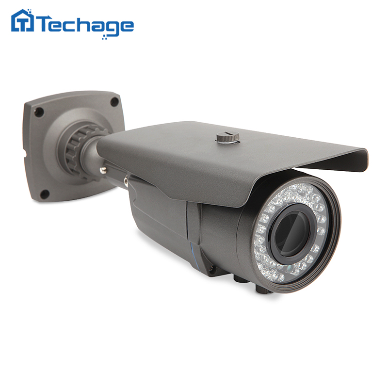 H.265 Security HD 4.0MP POE IP Camera Outdoor IR Night Vision Onvif P2P 2.8-12mm varifocal Zoom lens CCTV Surveillance Camera