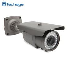 Techage H.265 охранных Full HD 4.0MP POE ip-камера Открытый ИК ONVIF P2P 2.8-12 мм зум-объектив с переменным фокусным объектив камеры видеонаблюдения ночного просмотра