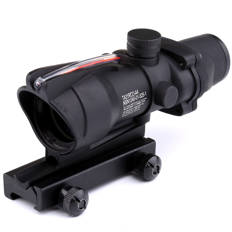 Trijicon 2018 New Hot Sale Promotion New ACOG 4x32 Optical Scope Tactical Scope Crosshair Hunting Riflescopes new hot chasse scope 3 9x50aogl outdoor hunting riflescopes tactical optical sight with mount