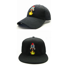 LDSLYJR 2018 rocket embroidery cotton Baseball Cap hip-hop cap Adjustable Snapback  Hats for kids c15a25df1162