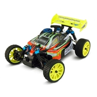 HSP 94285 RTR 2.4G 1/16 Nitro Engine 4WD Off Road Buggy METEOR RC Scale Model Truck