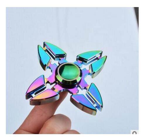 Fidget Spinner Rainbow Flower Dragon Eye Skull Wheel New Model Design Finger Hand Color Cheap Spiner Kids Toys