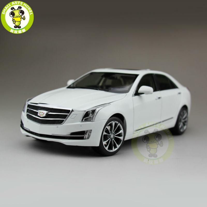 1/18 US GM Cadillac ATS ATS-L 2016 Diecast Model Car White радиоприемник sangean ats 909x white silver