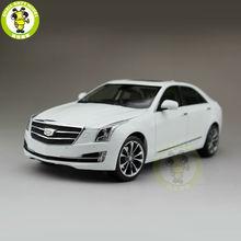 1/18 США GM Cadillac ATS ATS-L 2016 Литья Под Давлением Модели Автомобиля Белый