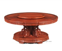 Hotel High Grade Round Table 16 Person Seat Big Table Rosewood Dining Desk New Claisscal Fashion