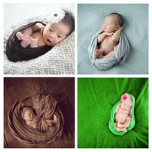 70 * 175 cm multicolor lovely creative baby newborn photography package cloth interior photo photo package sets