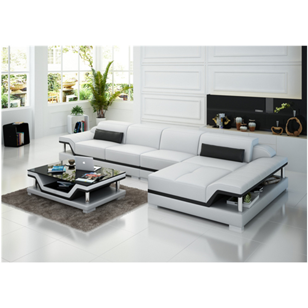 US $1319.0 |G8004C White contemporary latest design leather sofa set-in  Living Room Sets from Furniture on AliExpress - 11.11_Double 11_Singles\' Day