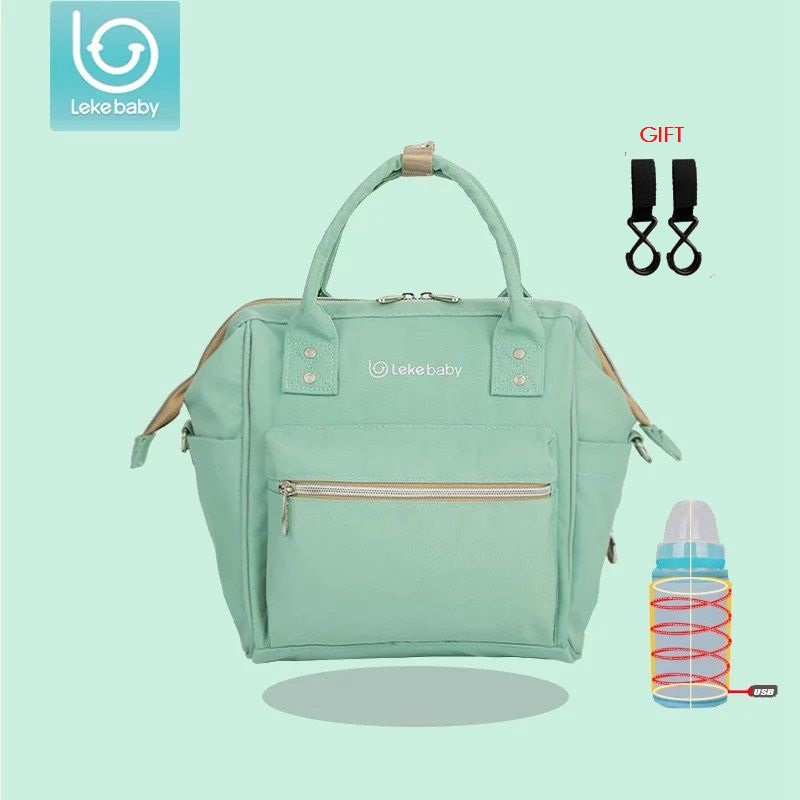 Lekebaby Luiertas Baby Diaper bag Backpack Nappy Bags For Mom Backpack Mummy Maternity Bag organizer bolsa maternidade lekebaby luiertas baby travel mummy maternity changing nappy diaper tote wet bag for stroller baby bags organizer mom backpack