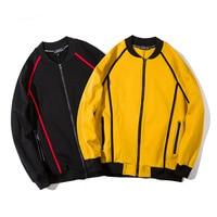 Men Women High Street Fashion Hip Hop Casual Jacket Male Spring Autumn Long Sleeve Sweatshirt Coat