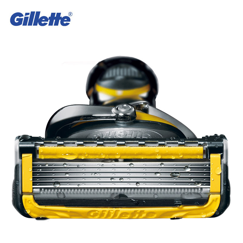 Genuine Gillette Fusion ProShield Razor Blades Brand FlexBall Shaver Washable Cartridges for Face Care 5 Layer Shaver