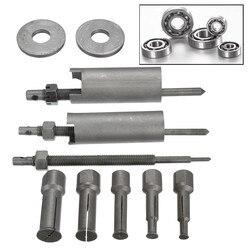 Mofaner 1 conjunto de aço motocycle carro rolamento interno extrator ferramenta removedor kit 9mm a 23mm diâmetro