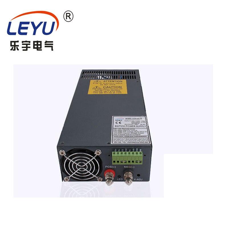 Série de puissance élevée taille compacte poids léger SCN-1000-12 fonction parallèle 1000 w alimentation à découpage