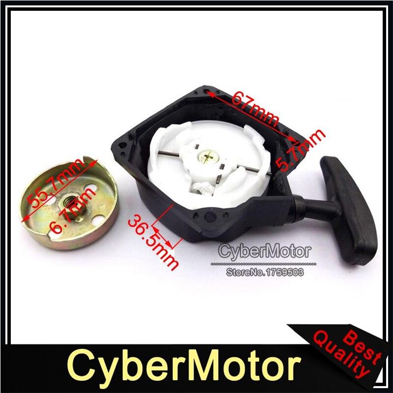 2 Pin Pull Start Starter for 33cc 36cc 43cc 47cc 49cc 2 Stroke Super Mini Pocket