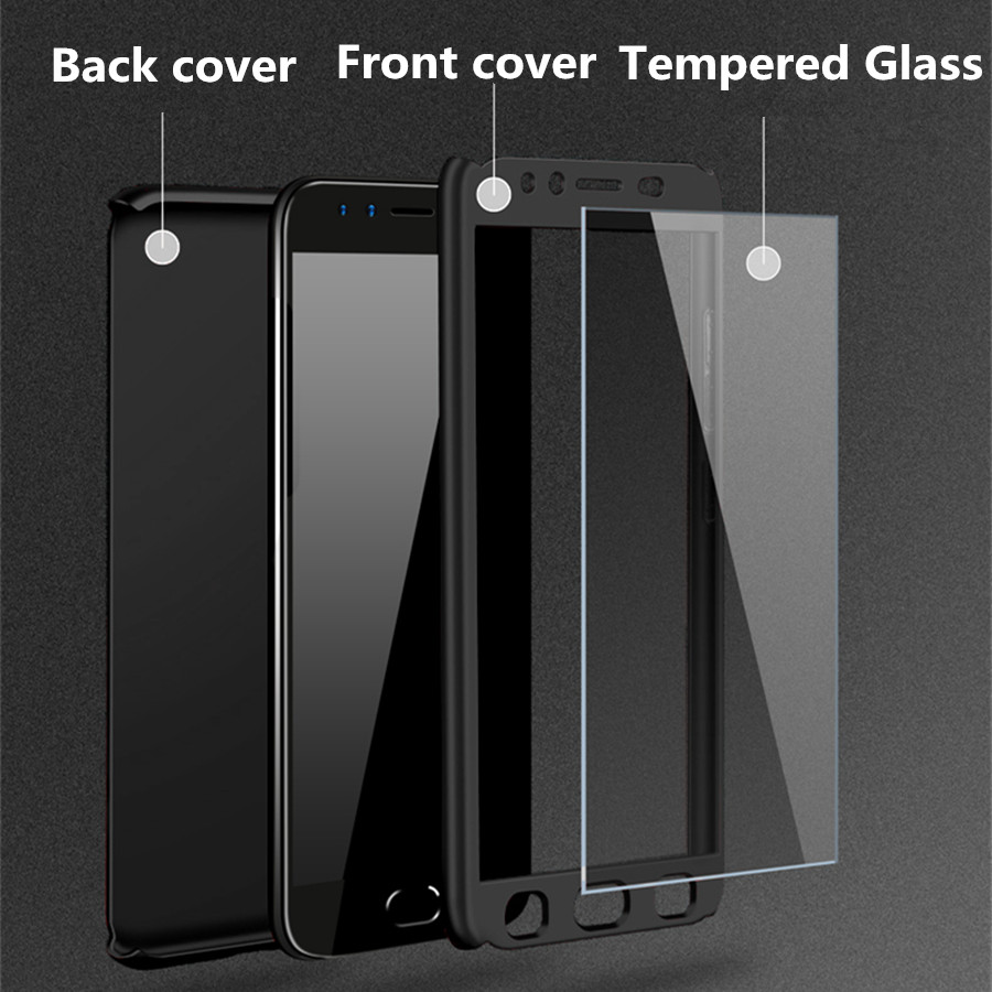 for OPPO R11 R11S Plus Case 360 Glass OPPO R15 R7 R7S R9 R9S Plus 360 Phone Case Cover Screen Full Protective Tempered Glass nokia 8 new 2018