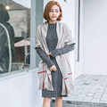Fashion Simple long tassel lattice shawl long autumn and winter women's warm cashmere scarf dual-use