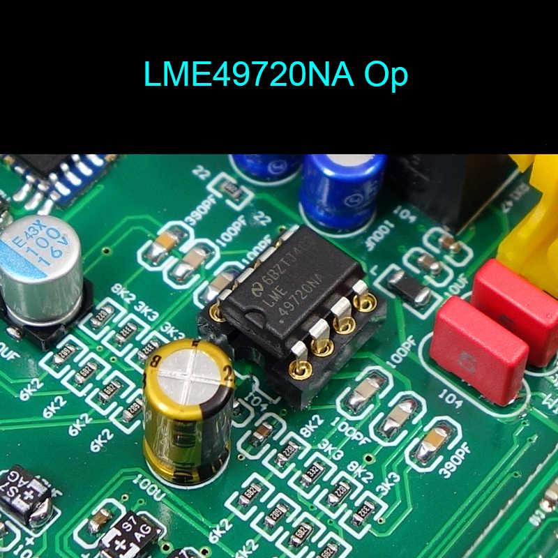 DC12V Dual AK4493 LME49720 OP amp DSD Quang đồng trục Bluetooth 5.0 Bộ giải mã âm thanh ban với màn hình hiển thị LED USB con gái thẻ