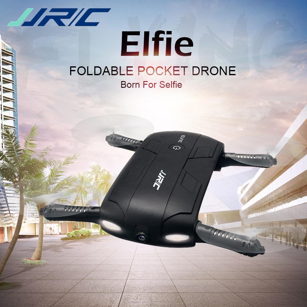 JJRC H37 RC Drone Elfie Pocket Gyro WIFI FPV Quadcopter Selfie Dron Foldable Headless Mini Drones with HD Camera VS JJRC H36 H31