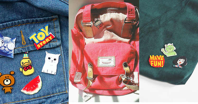 1Pcs Super Man Kiss BAT Man การ์ตูน Harajuku ไอคอนป้ายอะคริลิค Pins เข็มกลัดกระเป๋า DIY อุปกรณ์เสื้อผ้าเด็กรางวัลของขวัญ