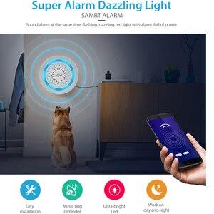 Image 5 - NEO Z wave Plus Draadloze Domotica Batterij Aangedreven Ook Kan Worden Opgeladen Met USB Sirene Alarm Sensor