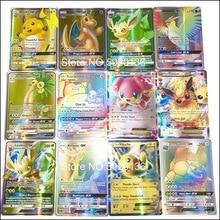 200 100 60 шт без повтора для pokemones GX EX Мега карточные игрушки игра битва карт торговля энергия Сияющие карты детская коллекция