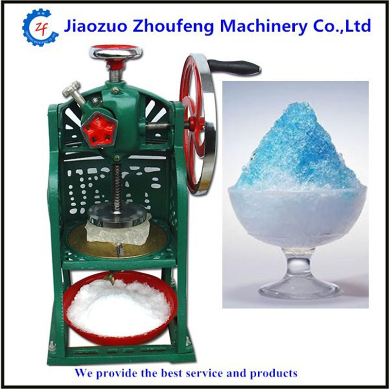 цена на Ice crusher summer sweetmeats sweet ice food making machine manual fruit ice shaver machine   ZF