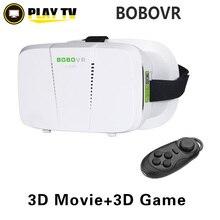 BOBOVR 3Dแว่นตาXiaozhaiครั้งที่สองความจริงเสมือนVRหัวหน้าเมาGoogleกระดาษแข็งกลมการควบคุมระยะไกลสำหรับ4 ~ 5.5 'มาร์ทโฟน