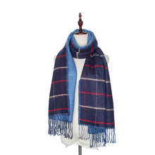 British 2016 New Bandanas Mix Color Tartan Plaid Casual Fashion Cashmere Scarf Women Scarves Winter Shawl Pashmina Echarp Poncho