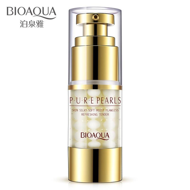 все цены на BIOAQUA Brand Eye Essence Pure Pearl Eye Cream Anti Wrinkle Moisturizing Dark Circle Lift Firming anti-puffiness eye skin Care онлайн