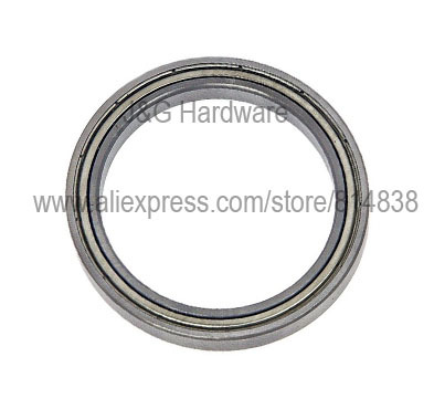 <font><b>6802ZZ</b></font> Bearing 15x24x5 Shielded Ball Bearings 100 pieces image