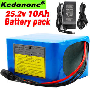 6S5P 24 V 10Ah 25.2 v 10000 mAh 18650 li-ion battery pack