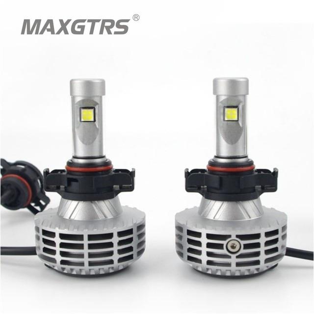 2xH16 5202 PSX24W 6000Lm CREE Chip XHP50 Led 60W Car DRL Fog Headlight Light Bulb Kit 4300k/6500K/8000K/10000K Car Light Source