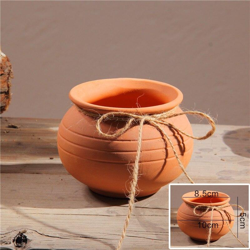 2019 JIAYAN POTS циркулярлы ілініп кішкентай Terra-cotta Flowerpots сапалы сапалы ет